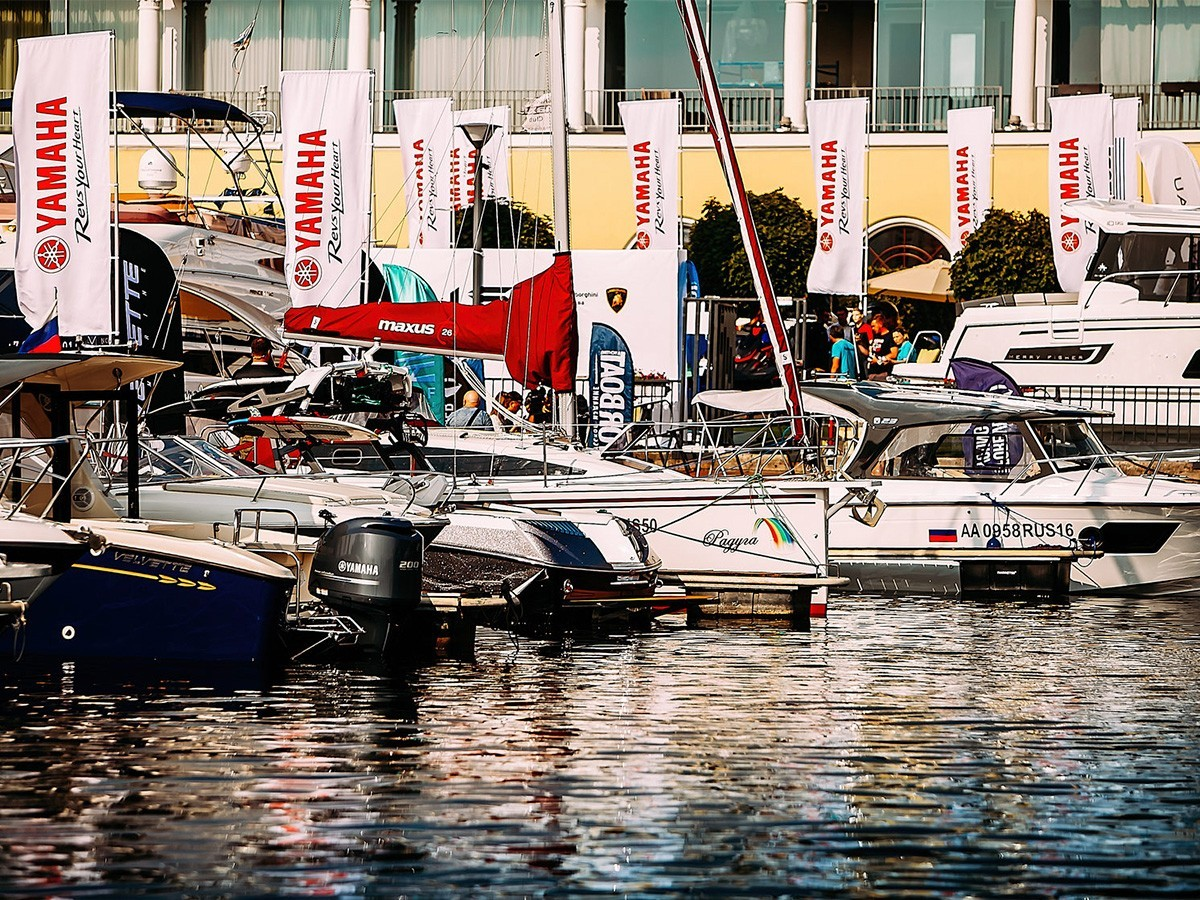 Moscow Yacht Show 1-3.06.2019