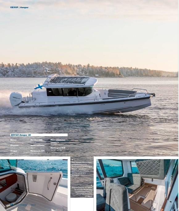 Лодки Axopar — обзор