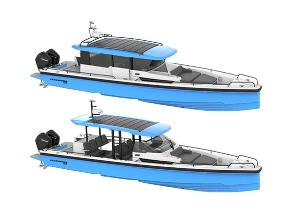 Новые премиальные пакеты версий в катерах AXOPAR Brabus LINE TRIM PACKAGE 2019