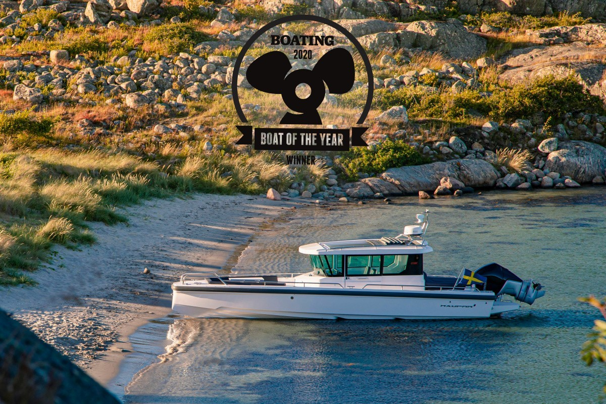 Axopar 28 Cabin — «Лодка года» по версии журнала Boating