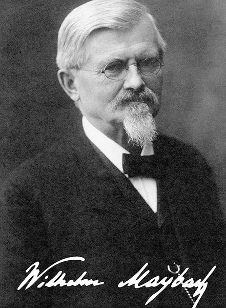 175 лет Августу Вильгельму Майбаху