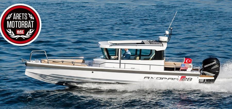 Axopar 28 АС - моторная лодка 2014 года
