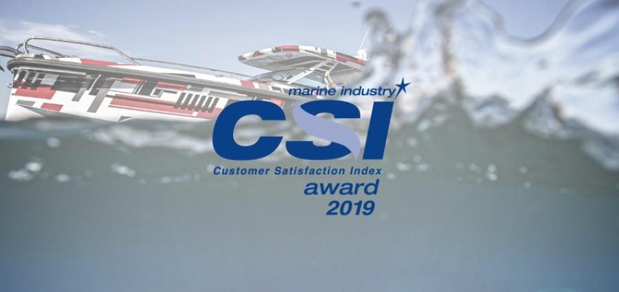 Axopar Boats был удостоен награды NMMA / CSI Customer Satisfaction Award 2019