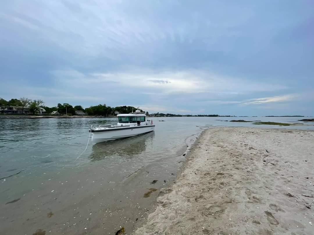 Пляж для Axopar